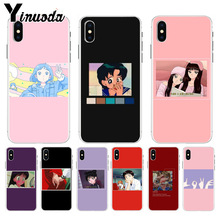Yinuoda Japanese anime Love Friend ART TPU Soft phone Case for iPhone 8 7 6 6S Plus X XS max 10 5 5S SE XR Cover