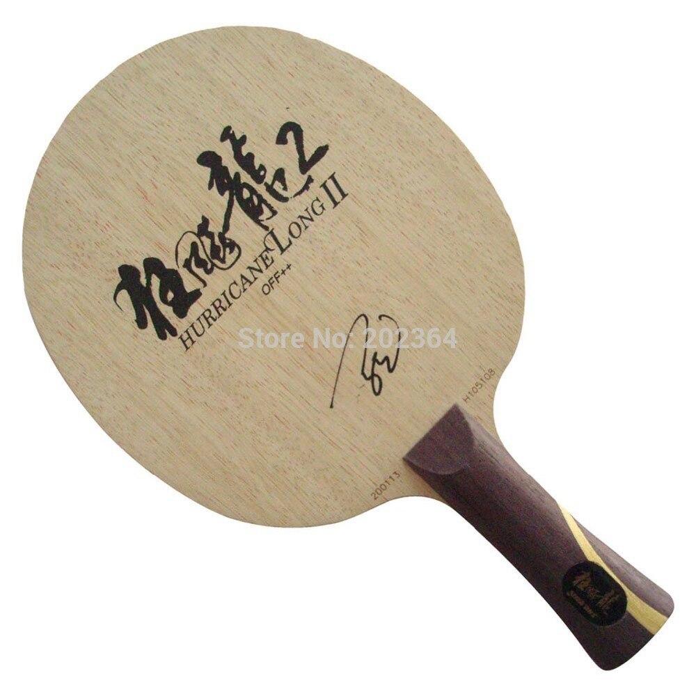 DHS Hurricane Long II OFF++ Table Tennis Blade for PingPong Racket dhs hurricane king off table tennis pingpong blade