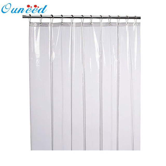 Shower Curtains Mildew Resistant Anti Bacterial Liner Eco Friendly