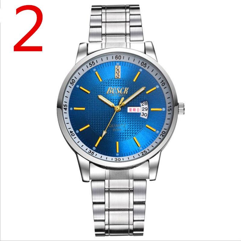 Мужская Новая мода механические часы Нержавеющаясталь в сдержанном стиле Повседневное Роскошные Бизнес наручные часы