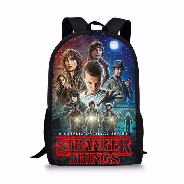 Forudesigns странные вещи сезон 2 школьная сумка для подростка Обувь для мальчиков девочек Bookbag Bagpack 2018 странные вещи студент мешок