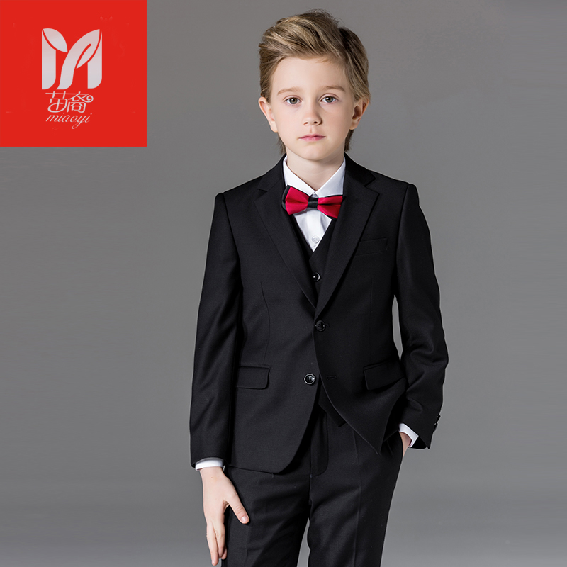 Boy suits Blazers British children's dress in the big children's flower dress performance service chair leisure suit jacket performance appraisal system in the macedonian civil service