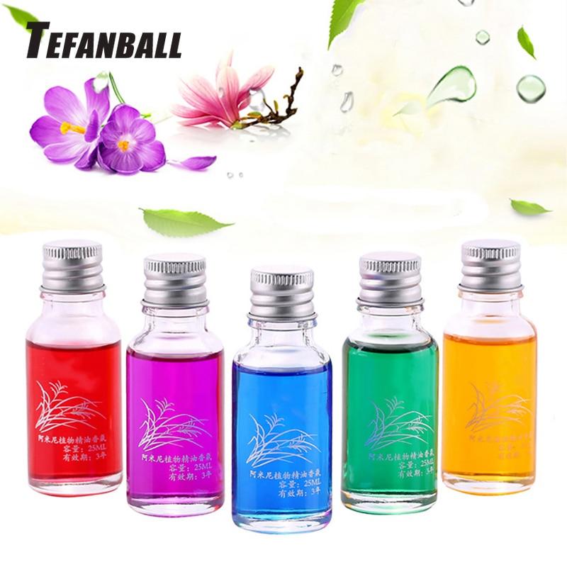 Car Perfume Bottle 25ml Air Freshener Auto Ornament Perfume Odor Refill Multi Flavor Liquid Replacement Flavoring Accessories-in Air Freshener from Automobiles & Motorcycles
