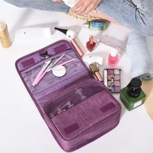 Image 4 - TPFOCUS Travel Storage Container Foldable Waterproof Makeup Bag with Hook