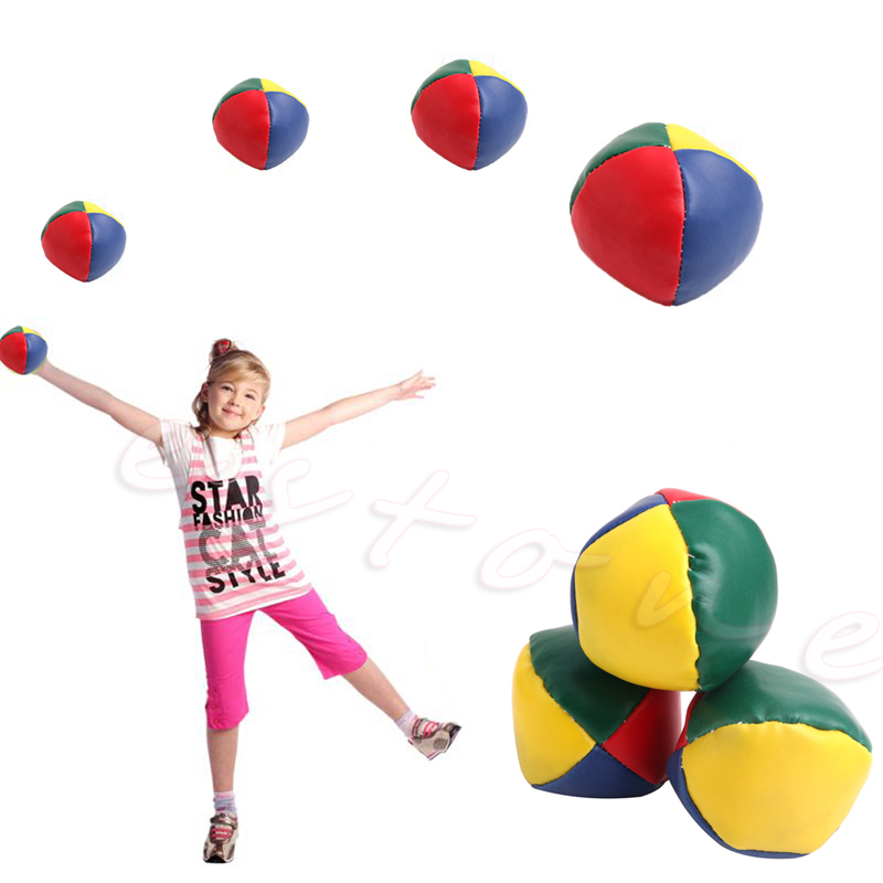 1Pc Sjov og motion Jonglering Ball Klassisk Bean Bag Jonglering Magic Circus Kids Toy Gave Ny