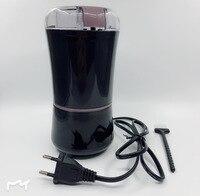 400 w ue plug elétrico moedor de café feijão sabor moedor usa lâmina aço inoxidável|Moedor de café manual|   -