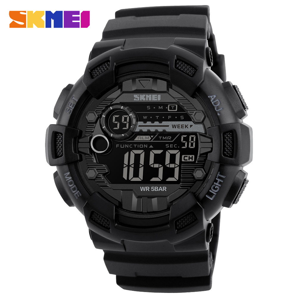 Zk30 Mens Watches Compass World Time Week Date Stopwatch Chronograph Led Display Digital Watch Clock Man Sport Watches For Men Watches Digital Watches