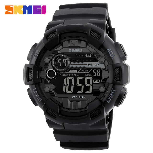 Sport Watches Chrono Countdown Waterproof Digital Watch
