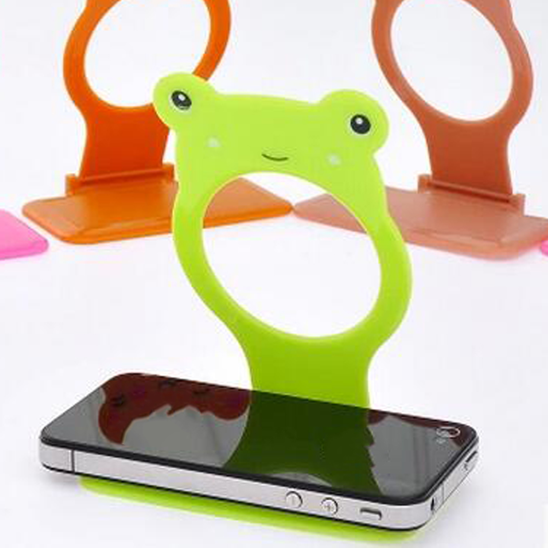 1Pc Cell Phone Wall Charger Hanger Cradle Universal Holder Hanging Stand Rack Shelf Cell Phone Hook Bracket Support