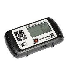 Все-солнце 25 мГц 100MSa/s цифровой 2 in1 ручной Портативный осциллограф + мультиметр один канал сигнала USB ЖК-дисплей Подсветка EM125