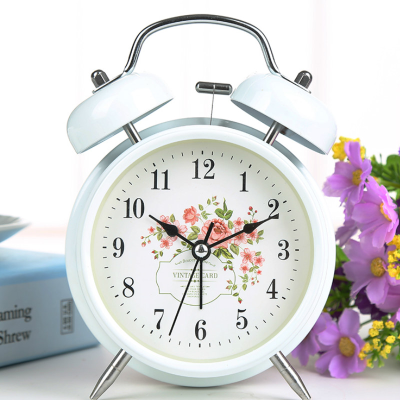 Student Bed Lazy Creative Small Alarm Clock Metal Personality Mute Alarm  Clock with Night Light Control. Online Get Cheap Small Alarm Clock  Aliexpress com   Alibaba Group