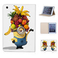 tablet case for ipad mini 1 2 3 with magnetic sleep wake mode lovely minions love bananas flip case for ipad mini retina