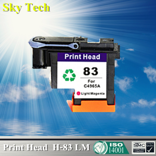 1 LM Ink cartridge Head For HP 83 Printhead , C4965A Remanufactured head For Hp DesignJet 5000 / Hp DesignJet 5500 for hdd for designjet 5500
