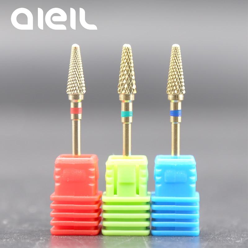 Nail Drill Bits Tungsten Carbide Nail Drill Bits Manicure Machine For Manicure Milling Cutters For Manicure Pedicure Nail Drill
