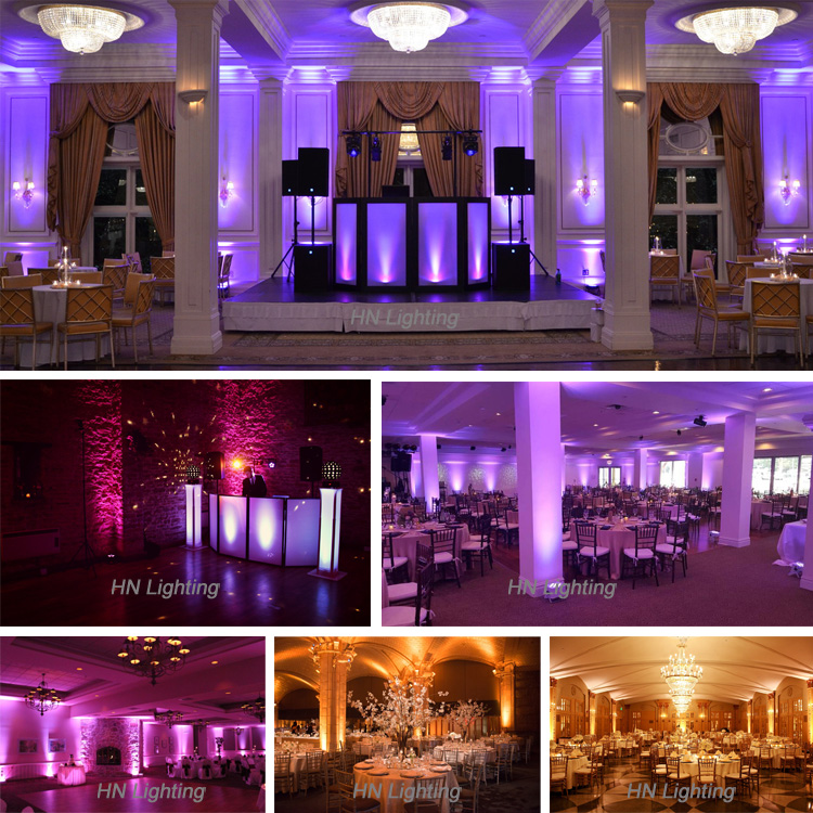 smart dj s6 6*18W wireless dmx battery uplighting for wedding