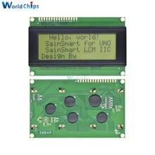 2004 204 20x4 znaków moduł wyświetlacza LCD kontroler HD44780 żółty Blacklight dla Arduino
