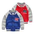Boys sports outerwear 2017 boys sweatshirts child baseball uniform baby sweatshirt fight sleeve top