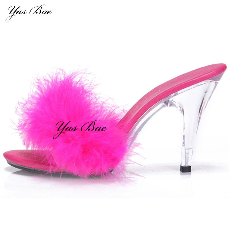 Online buy wholesale fuzzy shoes from china fuzzy shoes for High couture brands