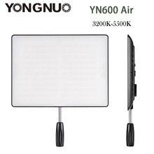 YONGNUO YN600 AIR 3200K-5500K LED Video Light 192 LED Lamp Lights Photographic Lighting for Photo Studio DSLR Camera Camcorder