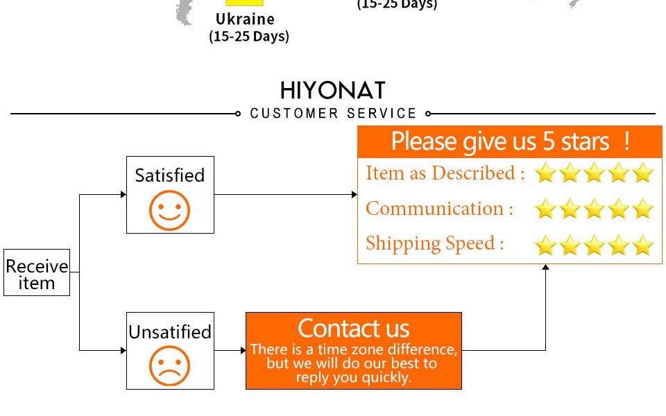 Customer Service Hiyonat
