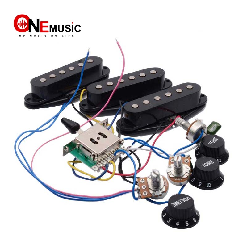 electric guitar pickup wiring harness prewired 5 way. Black Bedroom Furniture Sets. Home Design Ideas