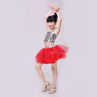 2018 Girls Ballet Dress For Children Dance Costume Kids Girls Ballet Tutu Dresses Gymnastics Leotard Dance