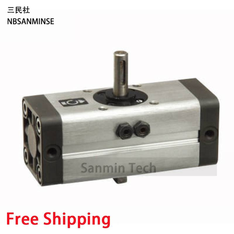Pneumatic Compressed Air Cylinder CRA1 Rotary Actuator SMC Type Cylinder SMC High Quality Compressed Air Cylinder Sanmin high quality double acting pneumatic gripper mhy2 25d smc type 180 degree angular style air cylinder aluminium clamps