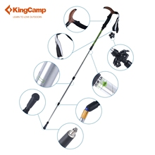 1pcs KingCamp T Handle Anti Shock Walking Stick