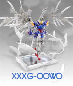 Image 5 - COMIC CLUB INSTOCK first edition MODLE HEART MG 1/100 wing gundam zero ew fix ver.  action assembly figure robot toy