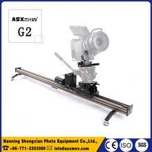 2017 New Arrival Hot ASXMOV G2 130cm Professional camera video slider Motorized Slider Dolly For dslr Digital Camera