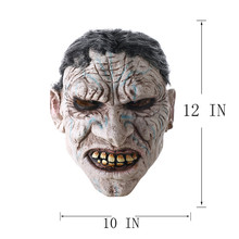 Full Face Devil Scary Face Mask for Cosplay, Latex Mask Horror Masquerade, Adult Ghost Halloween Theater Props Party Decoration