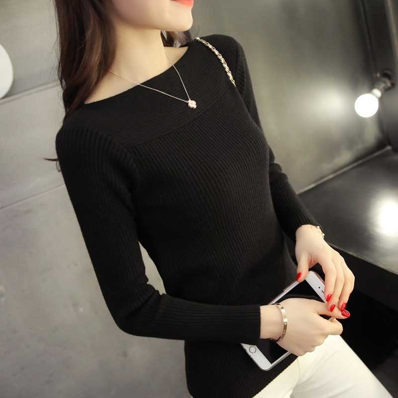 Women Long Sleeve Pullover Sweater  4