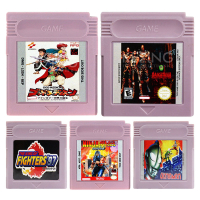 16 Bit Video Game Cartridge Console Card The Fighting Genre Game Series English Language Edition ...