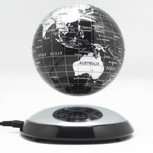 6 นิ้วความคิดสร้างสรรค์แม่เหล็กโลกลอยตัวแผนที่โลกที่ดีที่สุด Desktop Decor คริสต์มาสบริษัทครบรอบของขวัญ