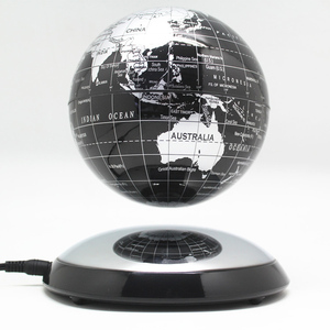Image 1 - 6 pollici Creativo Levitazione Magnetica di Galleggiamento Globe Mappa Del Mondo la Best Società Desktop di Decorazione Di Natale regalo di anniversario