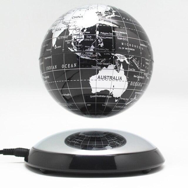 6 pollici Creativo Levitazione Magnetica di Galleggiamento Globe Mappa Del Mondo la Best Società Desktop di Decorazione Di Natale regalo di anniversario