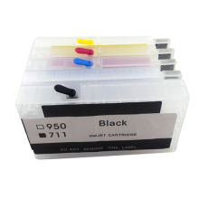 vilaxh For HP 711 711xl Empty Refillable Ink Cartridge for DesignJet T520 T120 Printer