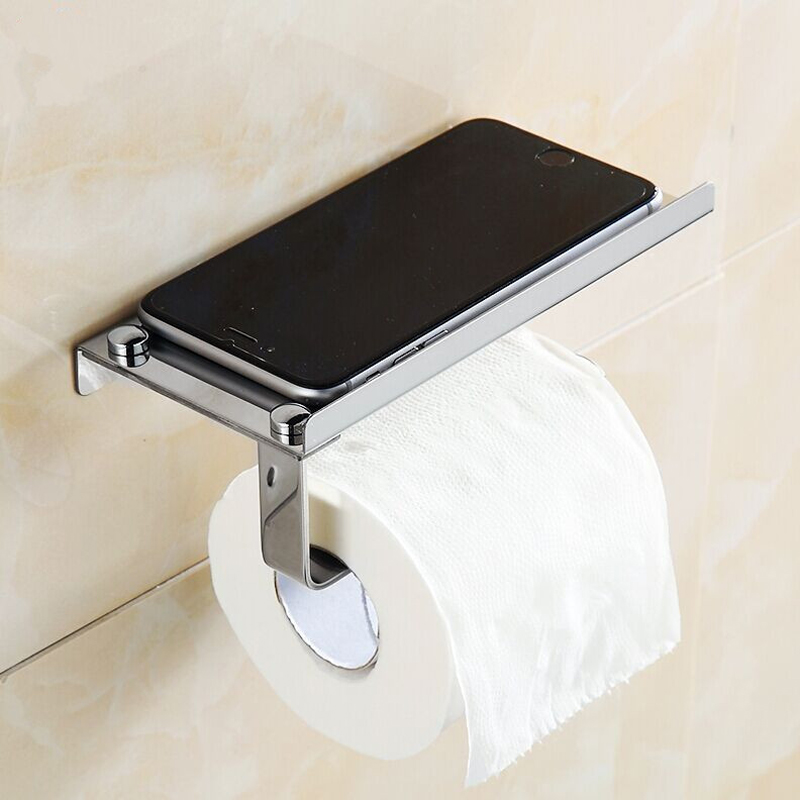 nickel paper in single toilet without cover kea kraus p holders brushed post bathroom tissue holder aura