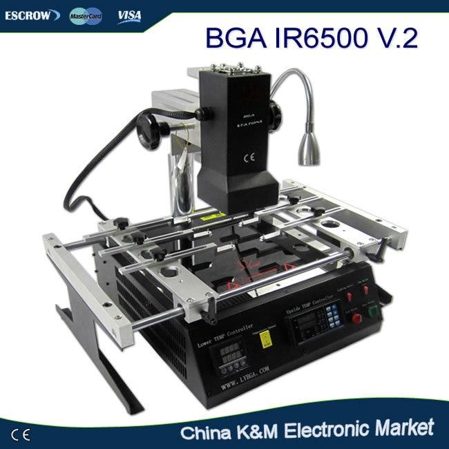 imágenes para Fiscales rusas-envío gratis LY IR6500 V.2 INFRARROJOS sistema de soldadura por Infrarrojos estación de retrabajo BGA máquina reballing