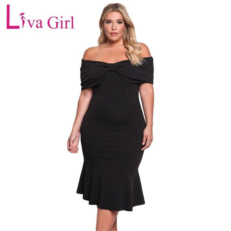 Online Get Cheap Black Girls Plus Size Mermaid Dress -Aliexpress ...