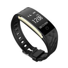 S2 Bluetooth 4.0 Смарт-часы Фитнес heartrate Мониторы браслет для IOS Android 3 вида цветов