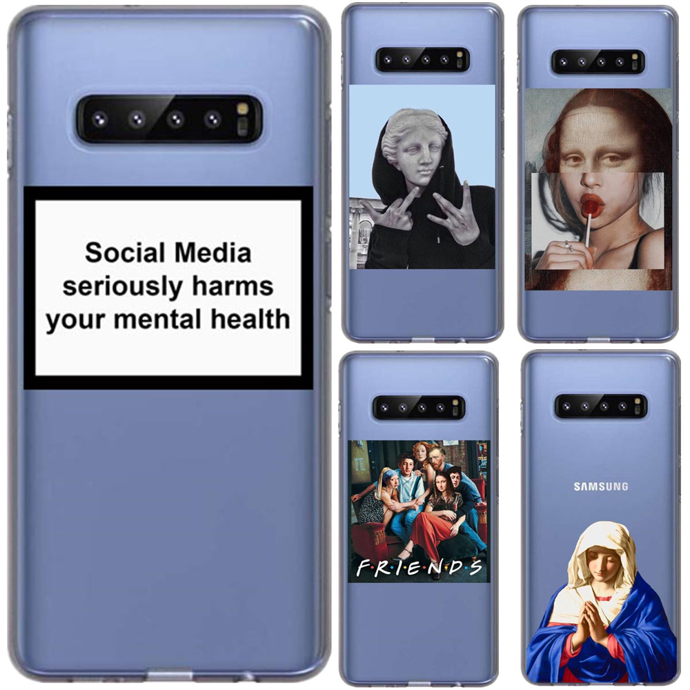 Phone-Case Van Gogh Venus Art-Paintings Birth Mona Lisa S10-Plus Samsung S10 Funny Cover