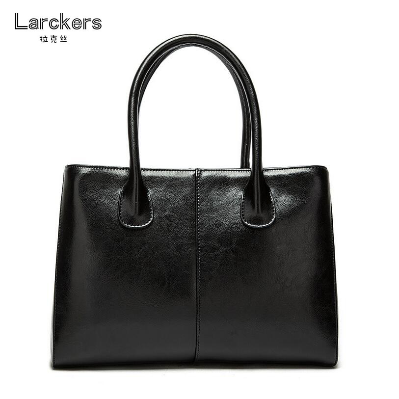 Genuine leather bags women handbag commercial cowhide women bag solid color thread fashion glazed leather ladies handbag 6pcs of stylish color glazed round rings for women