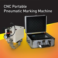 Long Working life CNC portable 2D Datamatrix Marking Machine, direct part marking system can create clear an permanent marks