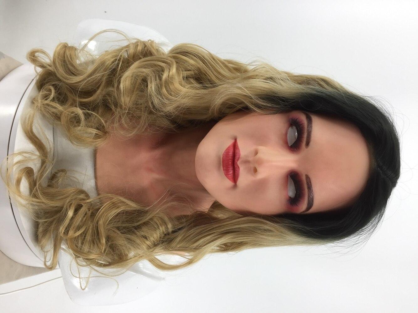 silicone female mask 10