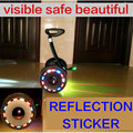 hub reflection sticker for Xiaomi Ninebot 9 scooter wheel reflection sticker for Xiaomi electric balance scooter