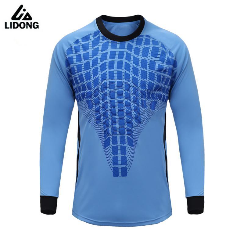 2017 Hot Mens Soccer Goalkeeper Jersey Football Goal Keeper Shirts Training Pants Doorkeepers Goalie Padded Kits Uniforms
