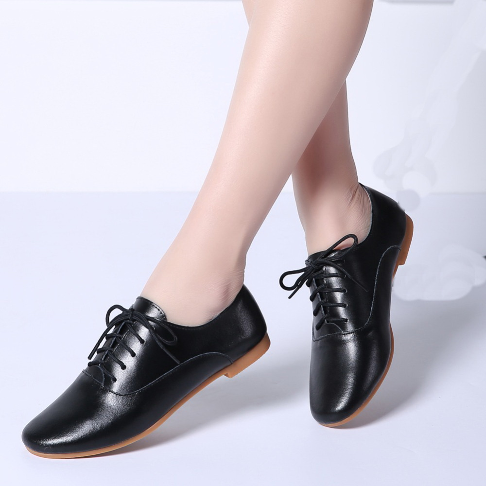 2019 Spring Ladies Ballet Flats Shoes Genuine Leather Woman Loafers Ballerina Flat Lady Chaussure Femme Oxford Shoes for Women2019 Spring Ladies Ballet Flats Shoes Genuine Leather Woman Loafers Ballerina Flat Lady Chaussure Femme Oxford Shoes for Women