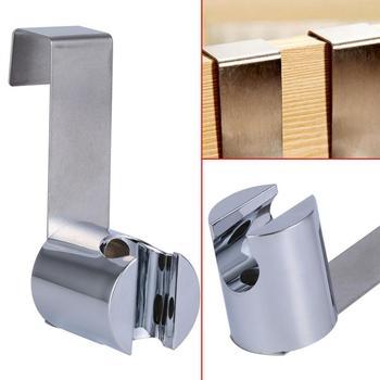 Stainless Steel+ABS Holder Hook Hanger For Hand Shower Bathroom Toilet Spray Gun Socket Toilet Bidet Sprayer Brushed Nickel Туалет