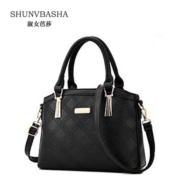 ACELURE Geométrica Mulheres Messenger Bags Alta Qualidade Bolsas Para Laides Bolsos Mujer Preto Elegante Fêmea Sacos de Ombro ACE8393